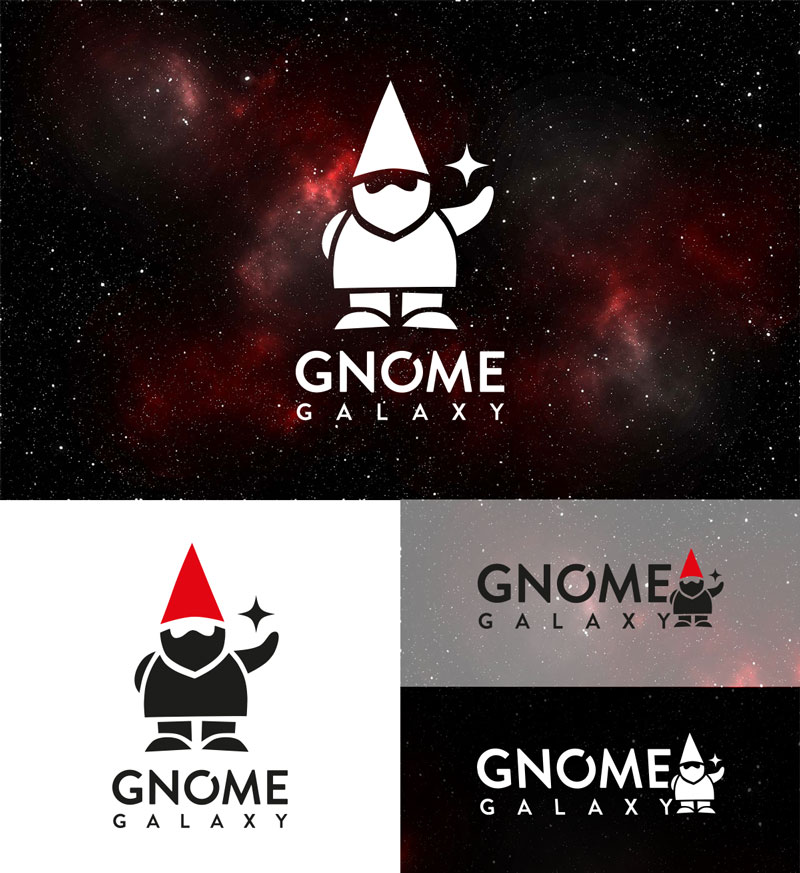 Gnome Galaxy - logo